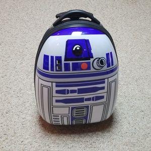 Star Wars R2D2 rolling luggage bag
